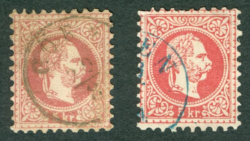 Freimarken-Ausgabe 1867 : Kopfbildnis Kaiser Franz Joseph I - Seite 17 1867_511