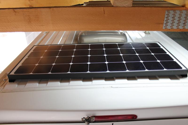 Perçage du toit - Fiat DUCATO - Panneaux Solaires Img_8310
