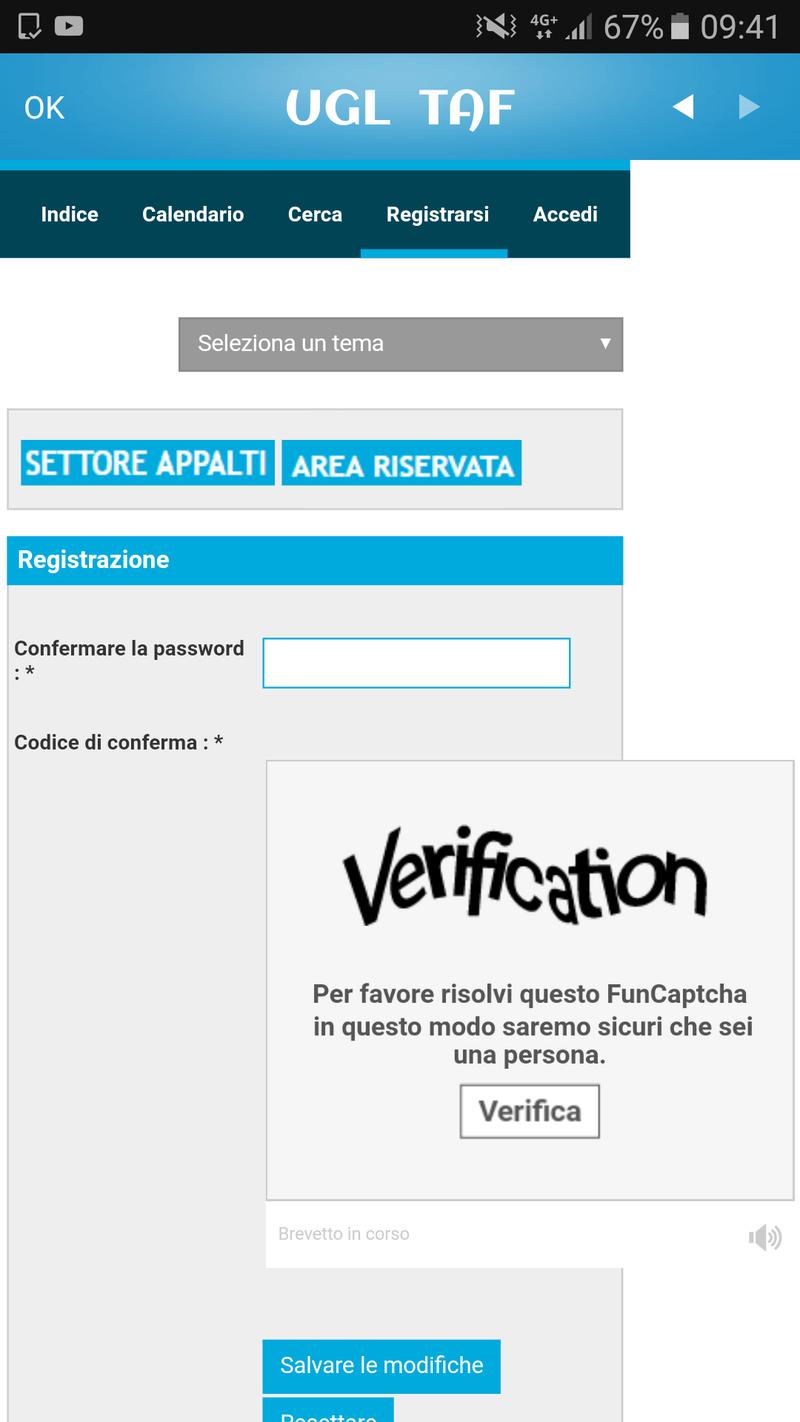 Problema su Registrazione Screen12