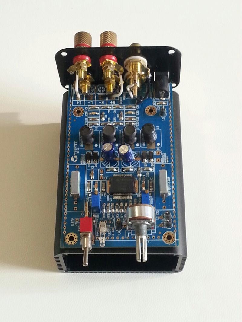 Zero t-amp con scheda tripath (2024) Img-2012