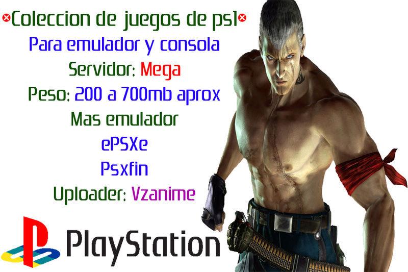 Juegos de ps1 Coleccion descargar 1 link Mega Juegos11