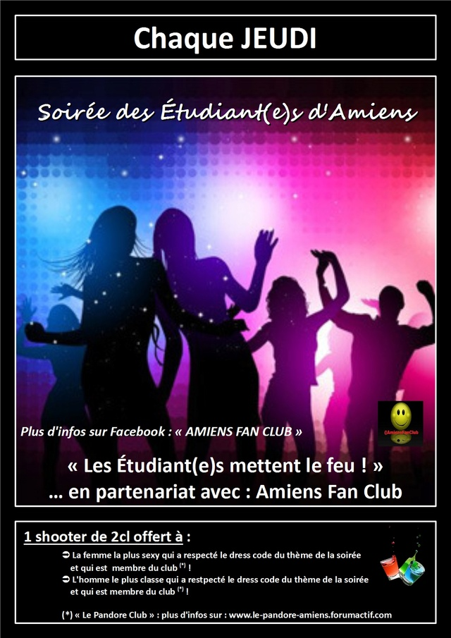 #Internation #event in #Amiens (#MadeInFrance) : #Students #party Le_pan15