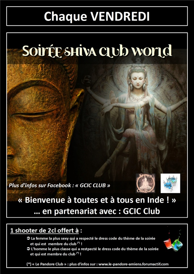 #Internation #event in #Amiens (#MadeInFrance) : #Shiva #party Le_pan17