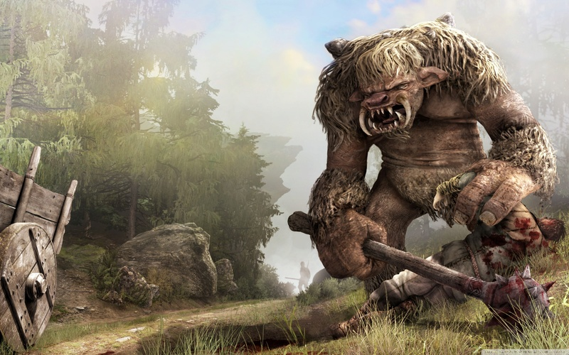 The Creatures of Skyshard Troll10