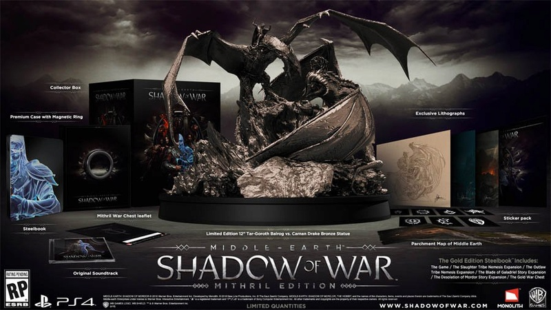 "Warner Bros. Interactive - Middle Earth : Shadow of War ""Mithril Edition"" La_ter10"