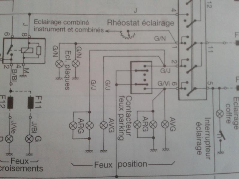 [ bmw E36 325 tds an 1994 ] Panne éclairage tdb + cde chauffage (résolu) 2017-011