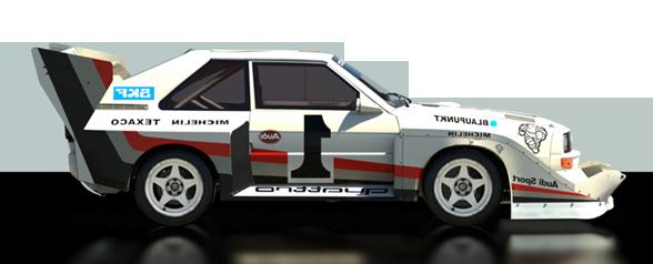 CAMPEONATO FIA TEAM DIRT RALLY Audi10