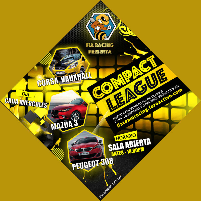 NORMATIVA Y CALENDARIO COMPACT CUP Compac13