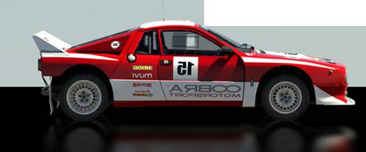 CAMPEONATO FIA TEAM DIRT RALLY Lancia10