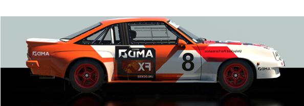 CAMPEONATO FIA TEAM DIRT RALLY Manta10