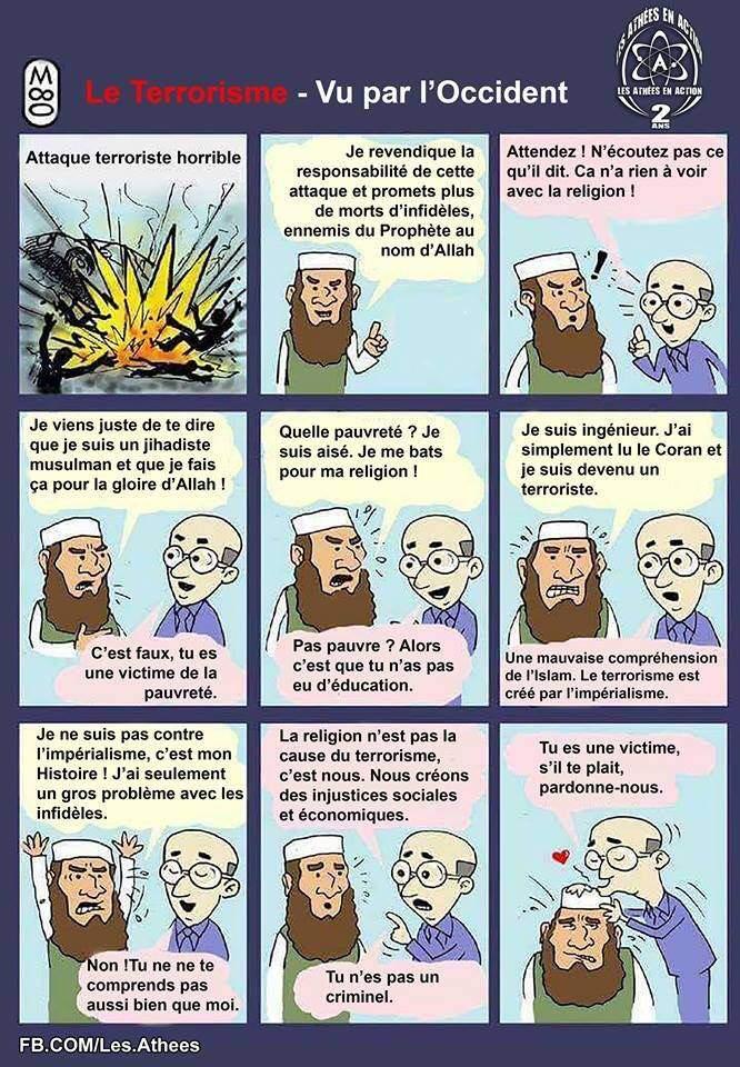 bande dessinée sur les rapports entre francais et terrorisme musulman Le_com10