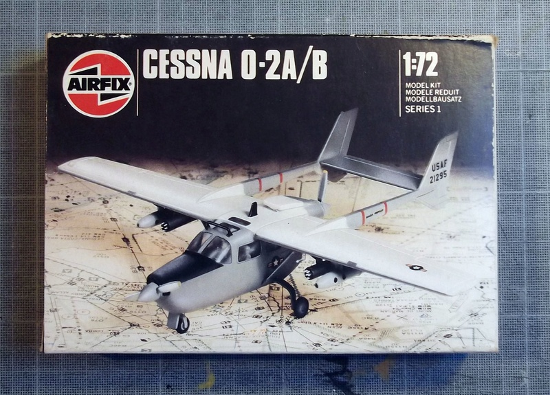 [Airfix] Cessna O2 - 1/72 Dscf6131