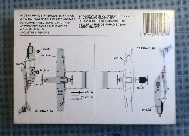 [Airfix] Cessna O2 - 1/72 Dscf6132
