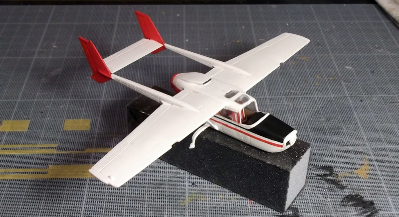 [Airfix] Cessna O2 - 1/72 Dscf6139