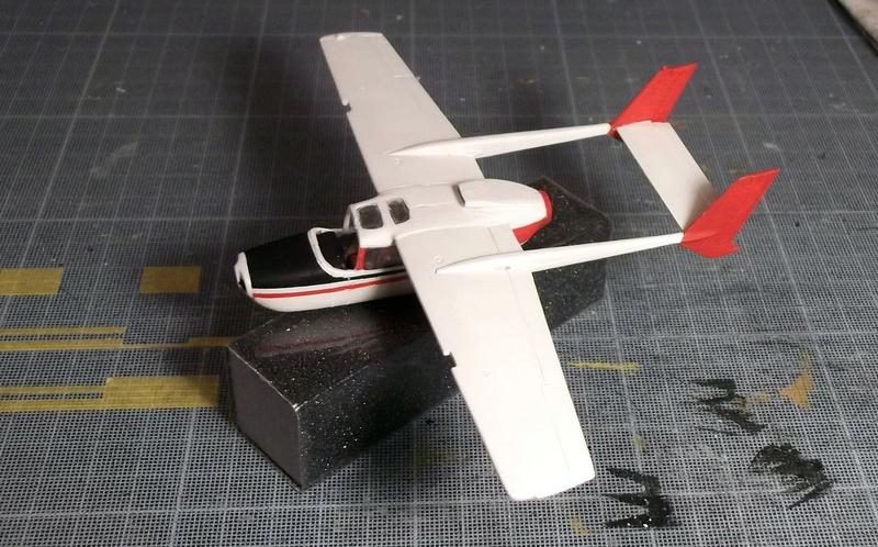[Airfix] Cessna O2 - 1/72 Dscf6140