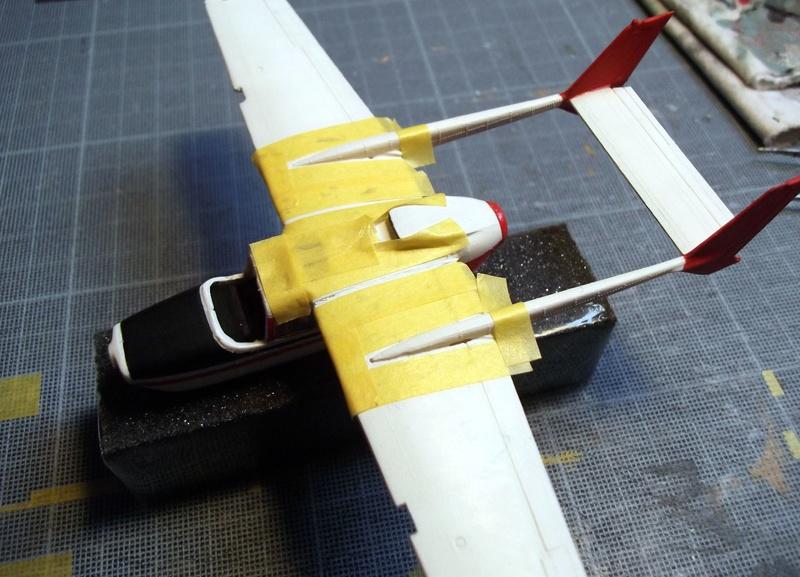 [Airfix] Cessna O2 - 1/72 Dscf6141