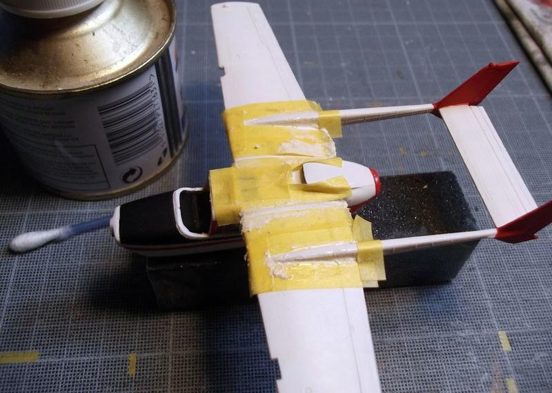 [Airfix] Cessna O2 - 1/72 Dscf6142