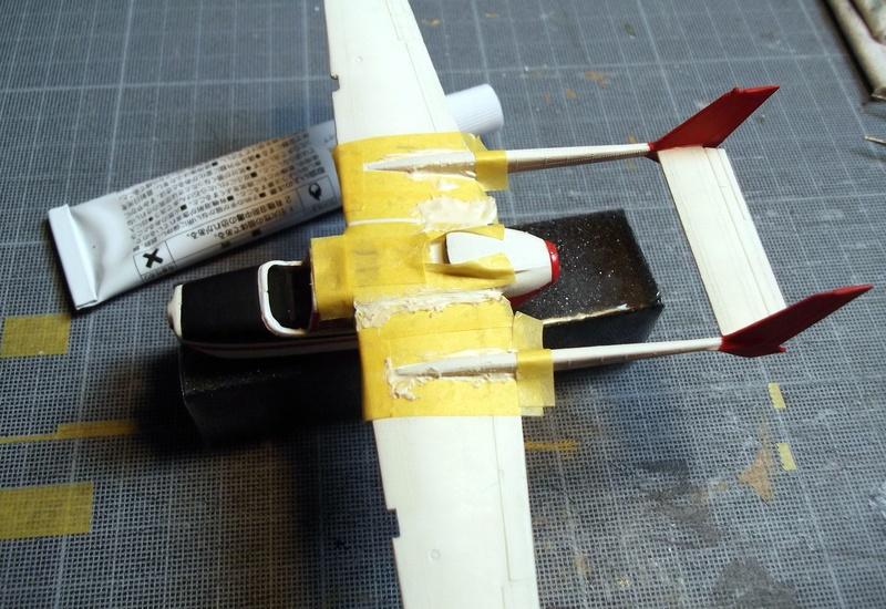[Airfix] Cessna O2 - 1/72 Dscf6143
