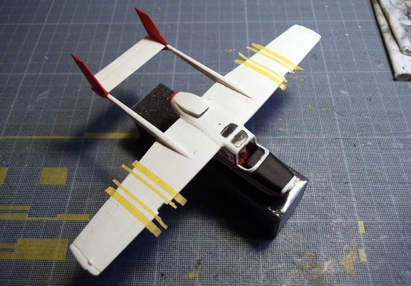 [Airfix] Cessna O2 - 1/72 Dscf6148