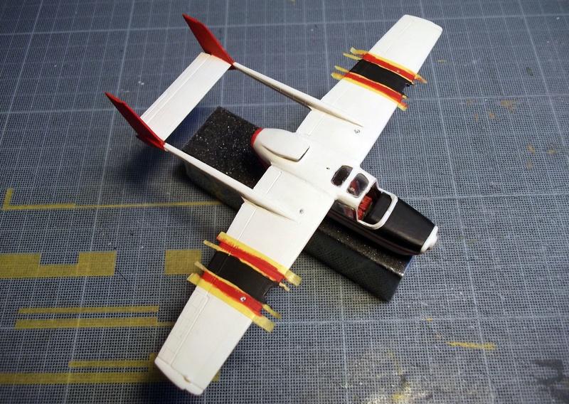 [Airfix] Cessna O2 - 1/72 Dscf6150