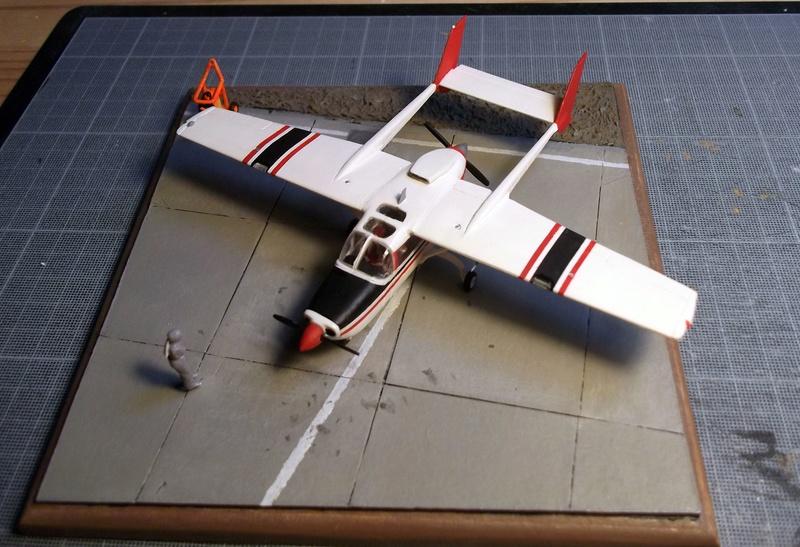 [Airfix] Cessna O2 - 1/72 Dscf6152