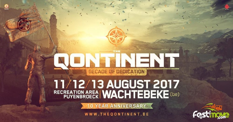 THE QONTINENT - 11-12-13 Aout 2017 - Recreation area Puyenbroeck, Wachtebeke - BE Festim12