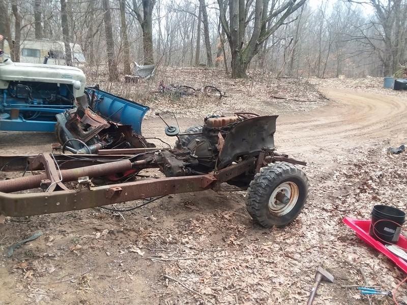 Mud bash jeep for local mudrun 20170321