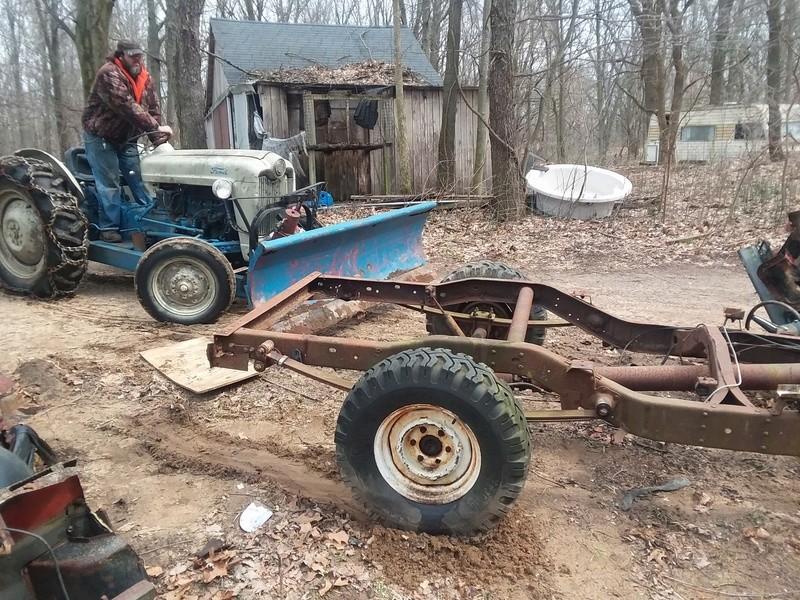 Mud bash jeep for local mudrun 20170322