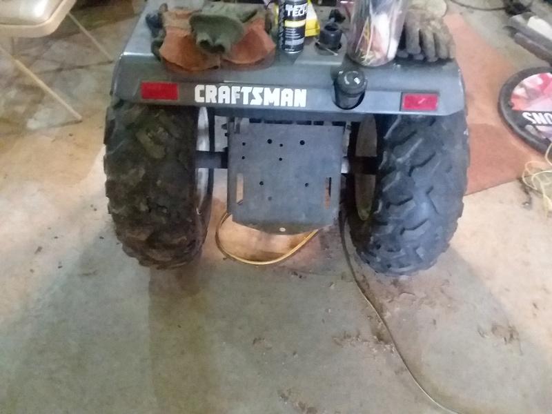 Craftsman mud mower  20170333
