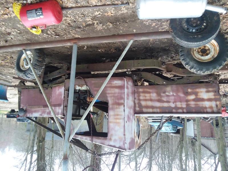 Mud bash jeep for local mudrun 20170434