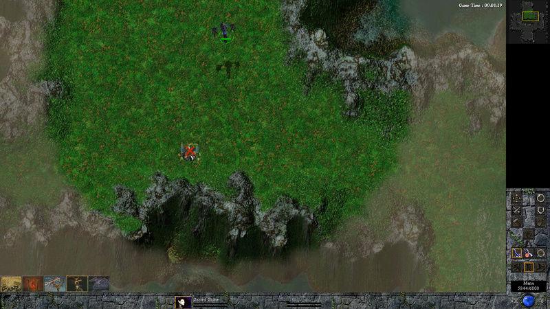 I made a 1v1 map Bugged10