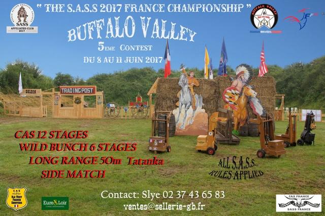 """BUFFALO VALLEY ""du 8 au 11 juin 2017 bulletin inscription Buffal11"