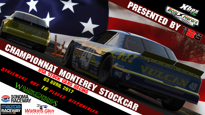 USA FORD Fusion Stockcar Racing  Affich11