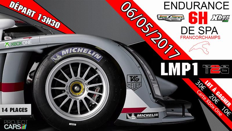 Endurance des 6H de SPA Francorchamps Lmp110