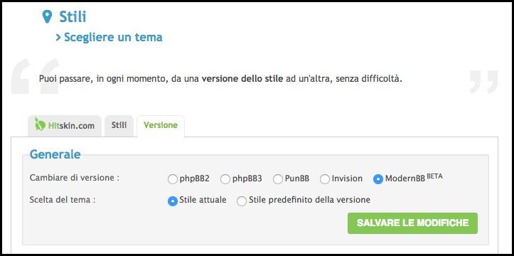 ModernBB: Una nuova versione per i forum Forumattivo Scherm10