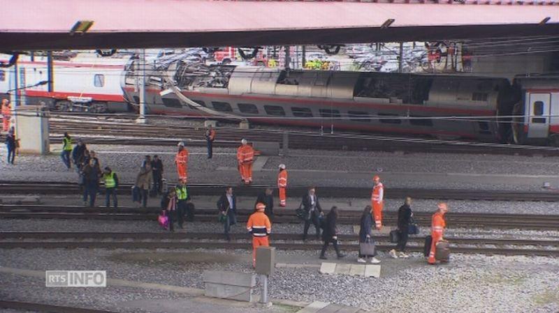 Déraillement d'un ETR 610 - Lucerne - Suisse 84843511