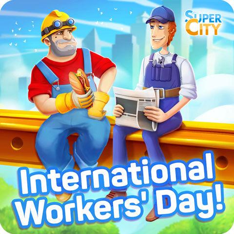C'est la Journée internationale des travailleurs! 18193710