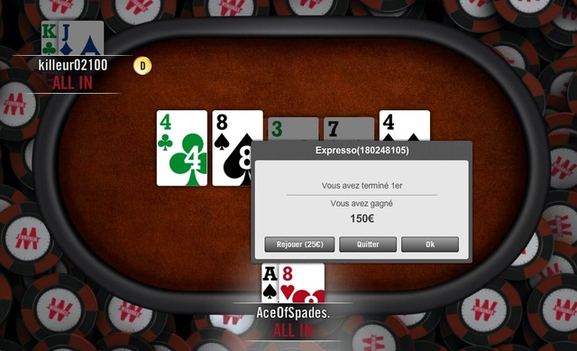 Session Poker AceOfSpades. Expres11