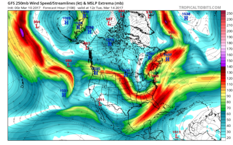 BLOG: Roidzilla Could Impact Area Tuesday March 14th - Page 2 Gfs_uv10