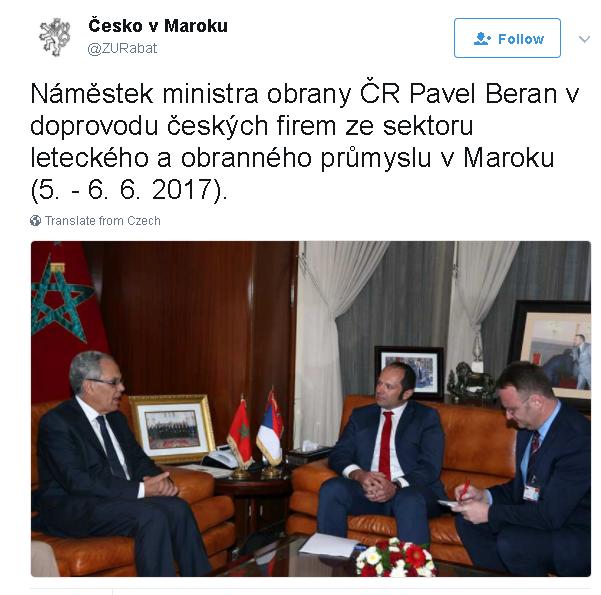 Coopération militaire Maroc-Tchèque  Maroc_10