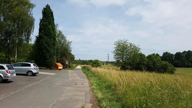 65239 Hochheim-Massenheim Rundweg Friedhof-Wicker-Hochheim Version 6,8 km.  20170640