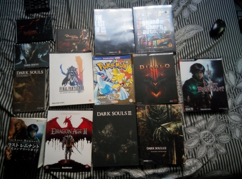 [ESTIM] artbooks guides dark souls bayonetta ...ds lite P7051511