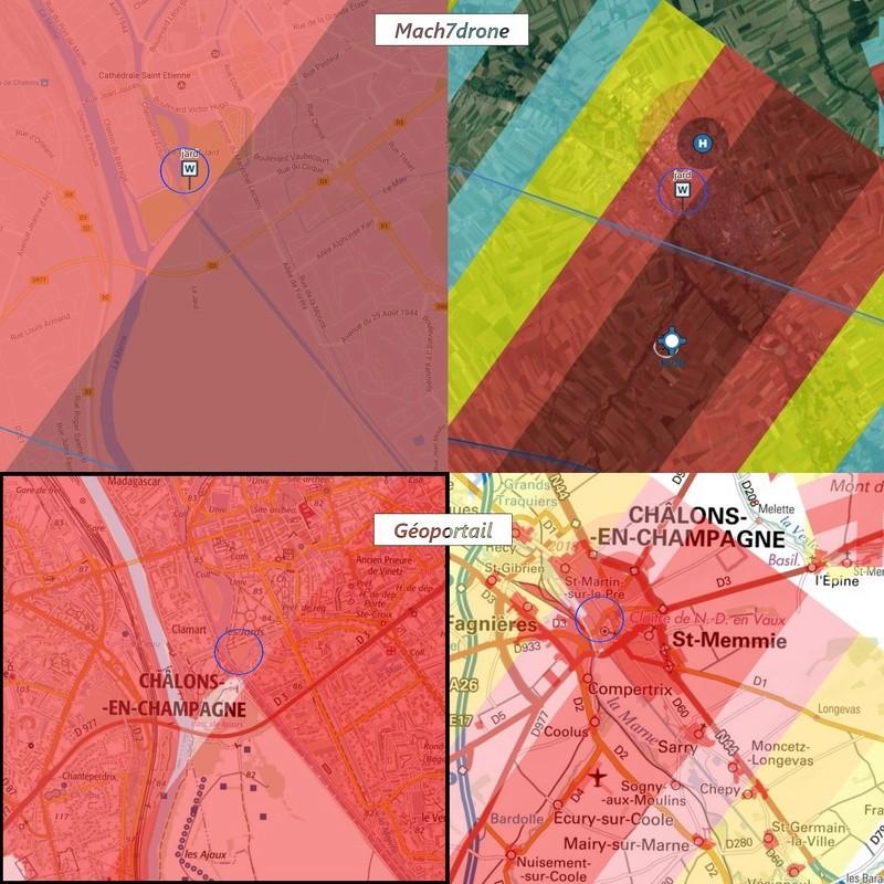 Infos sur Mach7drone Zones10