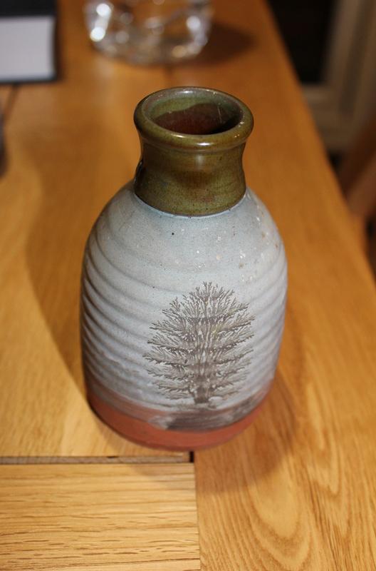 Stoneware pot MP - Mike Pollard Devon Img_2511
