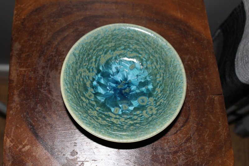 Crystalline glazed bowl-origin unknown Img_3118