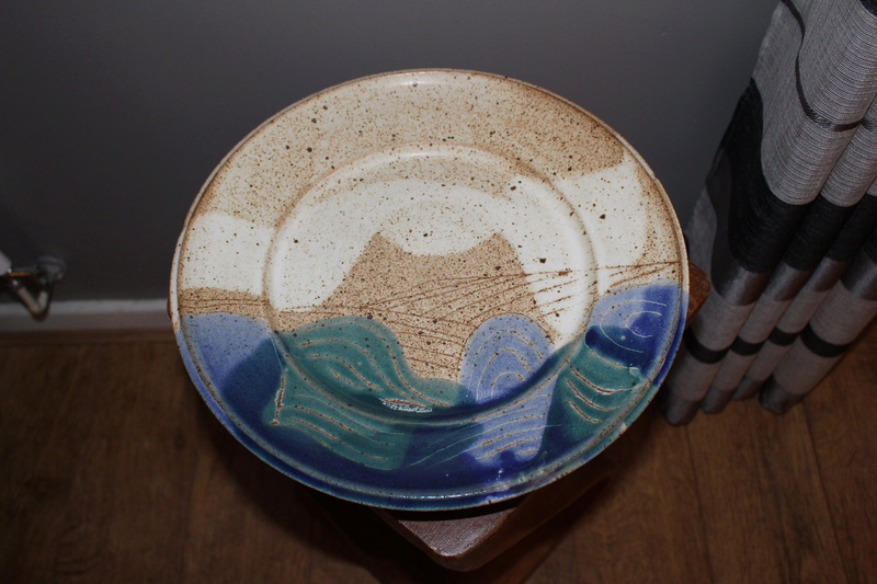 Pottery charger Img_3715