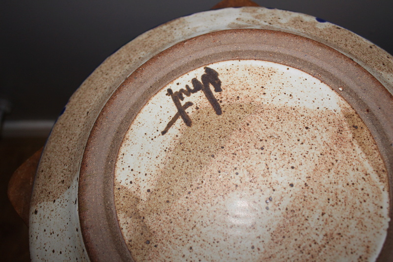 Pottery charger Img_3717