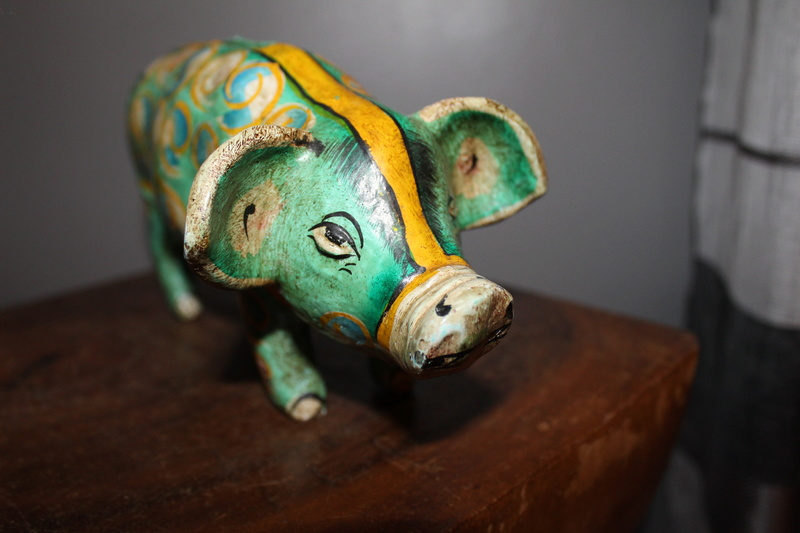 Pottery money pig Img_3719