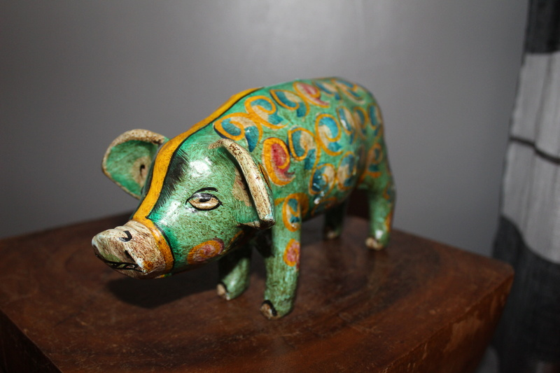 Pottery money pig Img_3720