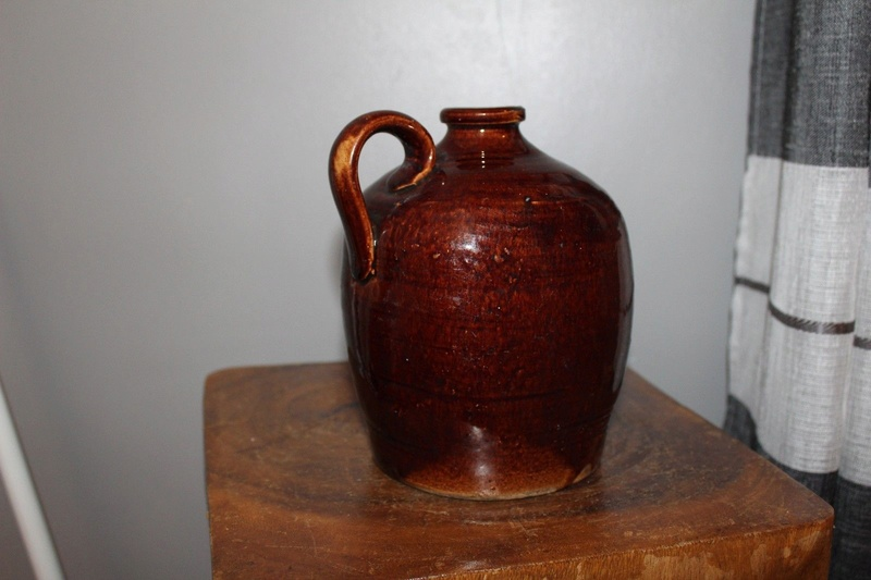 Pottery flask S-l16011
